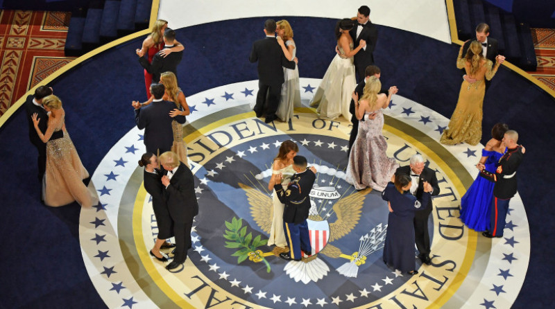 President Donald Trump Attends Inauguration Freedom Ball