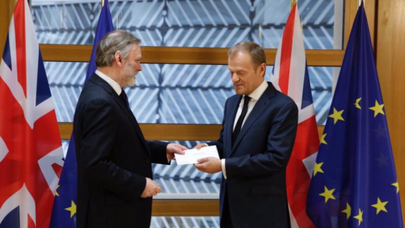 tusk scrisoare brexit