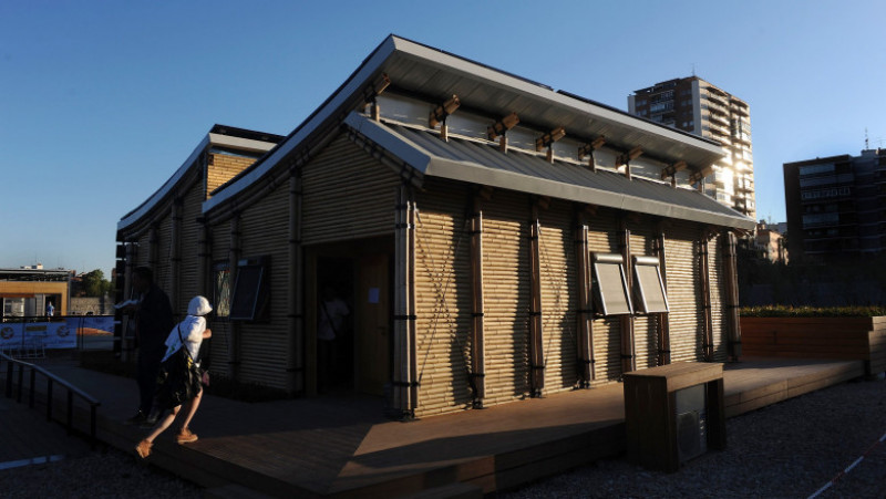 Universities Comptete In Solar Powered House Competition