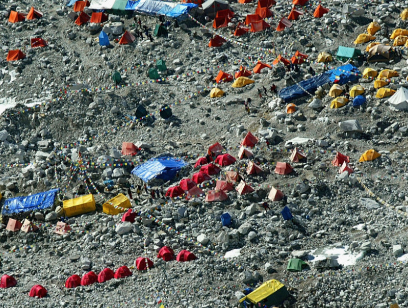 base camp nepal everest GettyImages-2000530