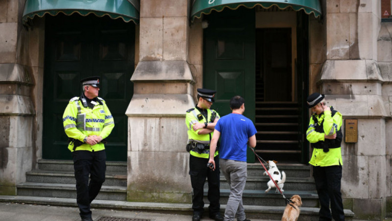 Police Activity In Manchester After The Manchester Terrorist Attack