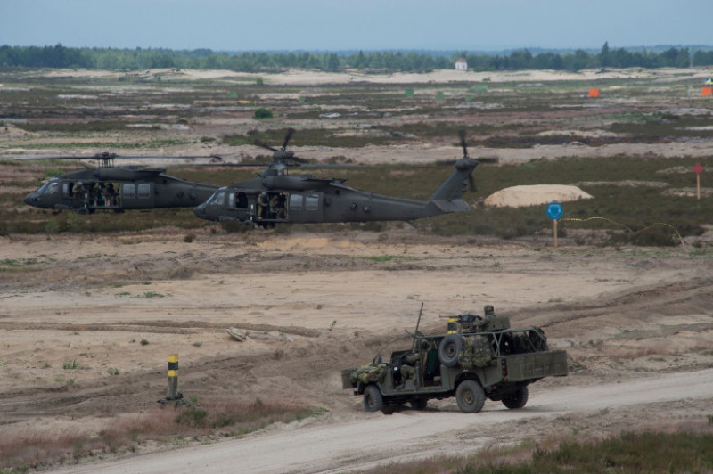NATO Secretary General at Exercise Noble Jump 2015