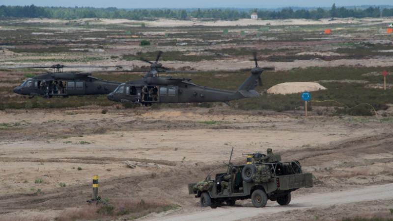 NATO Secretary General at Exercise Noble Jump 2015