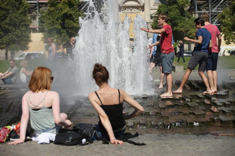 Summer Heat Wave Reaches Northern Europe