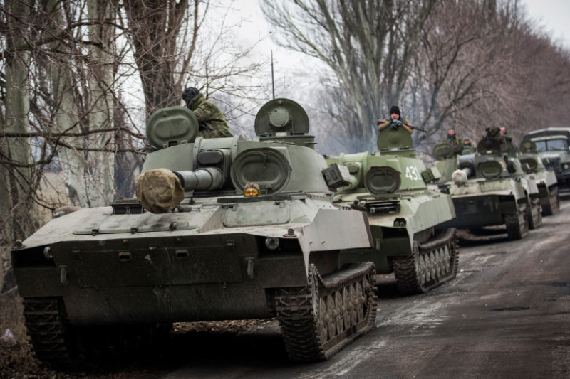 Conflict In Eastern Ukraine Takes Its Toll On Donetsk