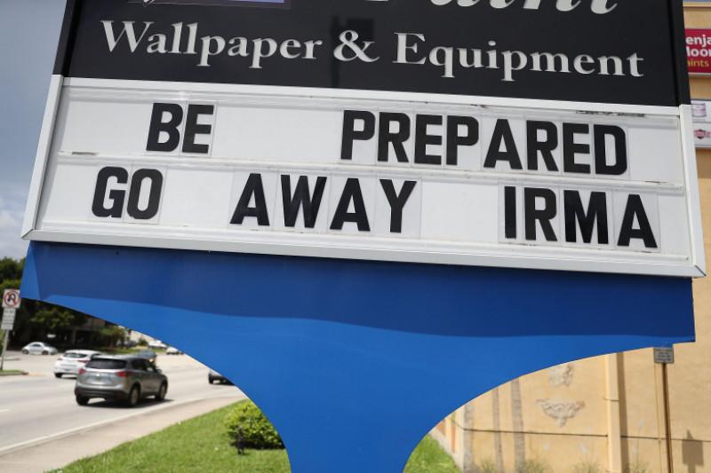 Florida Begins Preparing For Hurricane Irma