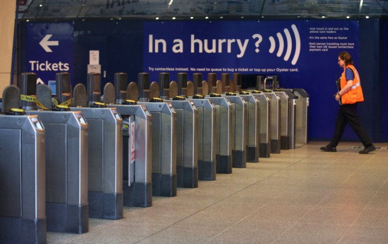 London Underground Staff Hold A 24 Hour Strike Over Roster Changes