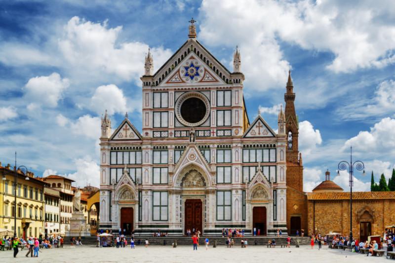 biserica Santa Croce din Florenta