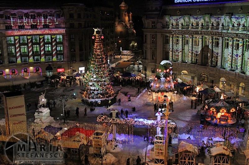 Targul De Crăciun București 2017 Din Piața Constituției Se