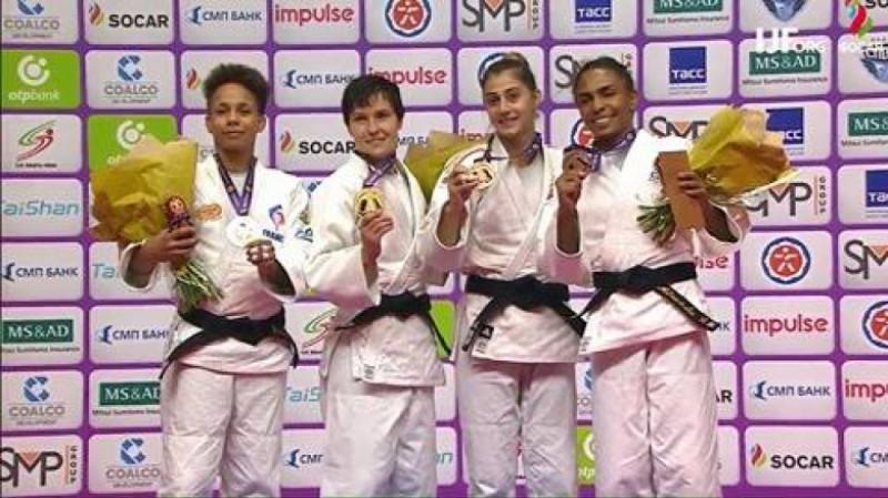 Larisa Florian St Petersburg judo