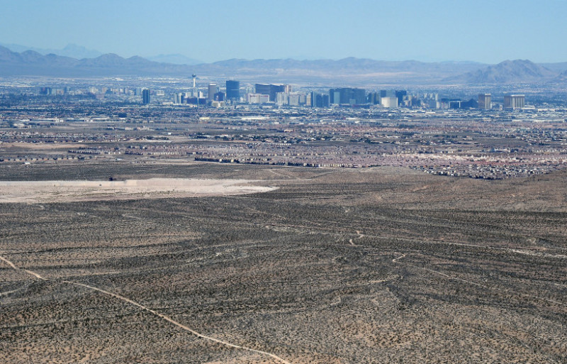 Aerial Views Of Las Vegas