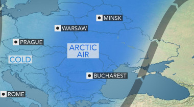 Aer polar în România. Meteorologii anunță ninsori masive