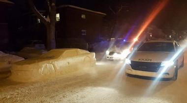"""Polițiștii au vrut să dea amendă pentru o mașină """"parcată neregulamentar"""". Ce au descoperit însă când s-au apropiat"""