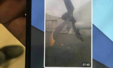 Ultimul mesaj trimis de la bordul avionului prăbușit. Un pasager i-a trimis o fotografie iubitei sale