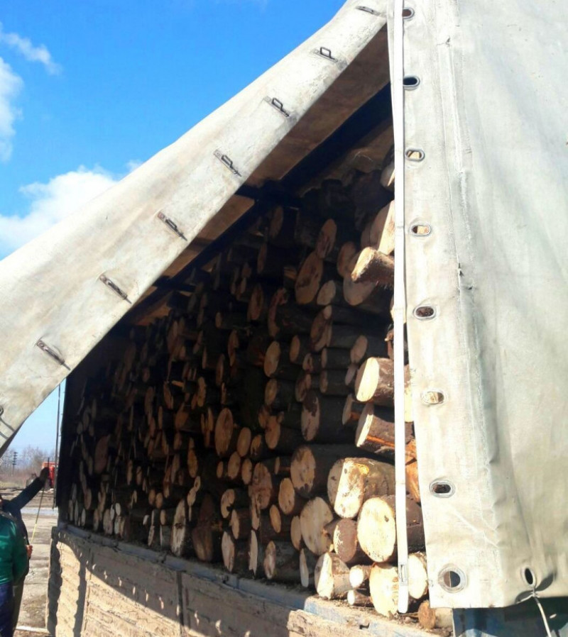camion lemne confiscare jandarmi Bihor