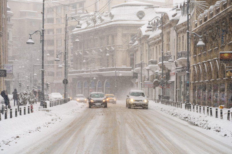 trafic vreme meteo ninsoare zapada bucuresti iarna