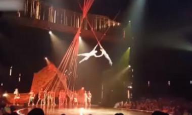 VIDEO. Un acrobat Cirque du Soleil a murit în urma unei căzături din timpul unui spectacol