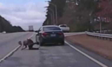 VIDEO. Poliţist ajuns de râsul internetului