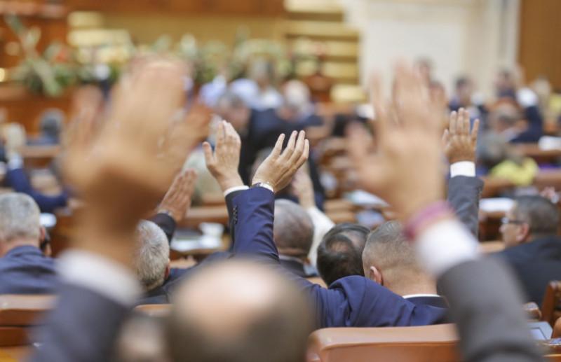 vot in parlament
