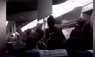 VIDEO Cum e să vezi moartea cu ochii. Picaj de 9.000 de metri în doar 5 minute
