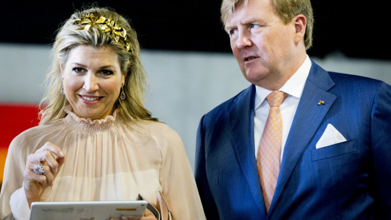 Dutch King and Queen state visit to Luxemburg day two