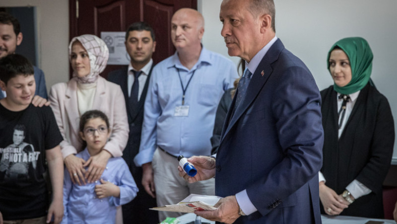 Turkish Voters Go To The Polls For Presidential And Parliamentary Elections