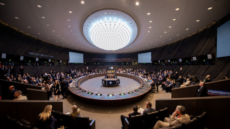 NATO Summit Brussels 2018 - Meeting of the North Atlantic Council at the level of Heads of State and Government with Georgia and Ukraine