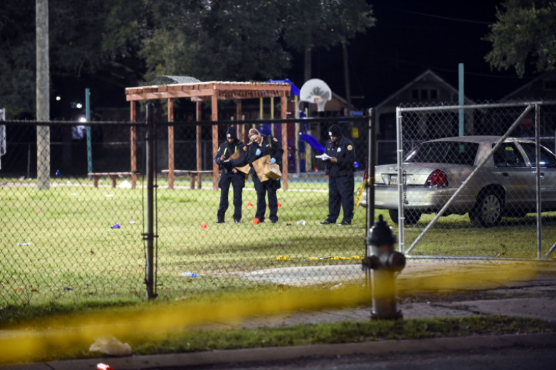 16 Hospitalized After Shooting in New Orleans Park