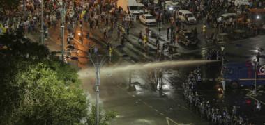 Ce a descoperit coordonatorul Jandarmeriei într-o mașină parcată la Victoriei, în timpul protestului diasporei