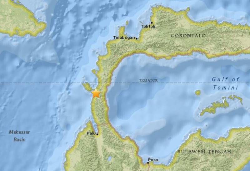 7.7 magnitude earthquake strucks off Indonesia