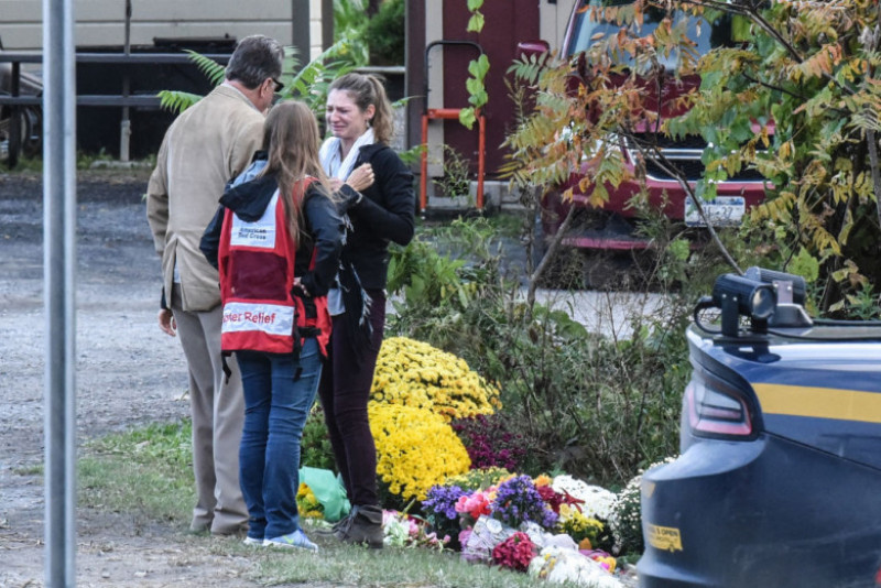 Local Residents Mourn 20 Victims Of Weekend Limousine Crash In New York State