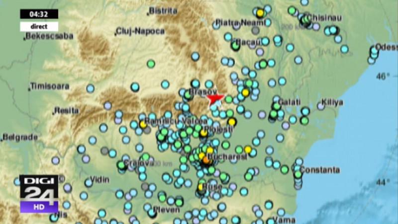 harta cutremur romania de 5,8 pe scara richer