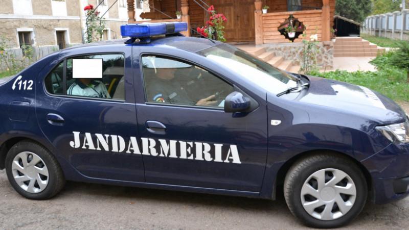 masina Jandarmerie suspect