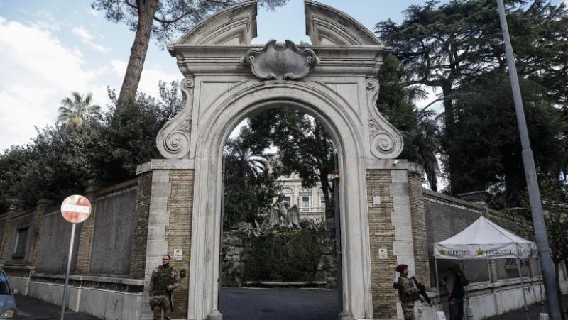 ambasada vaticanului in roma