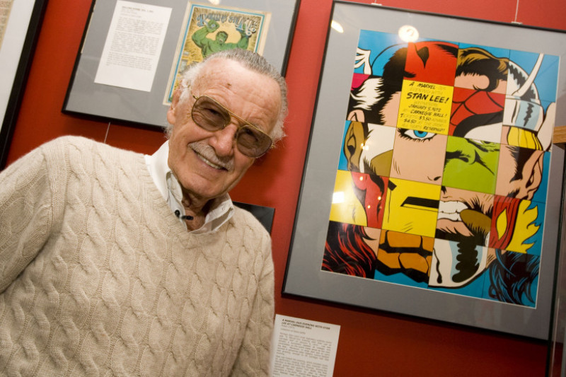 """Opening Reception For """"Stan Lee: A Retrospective"""""""