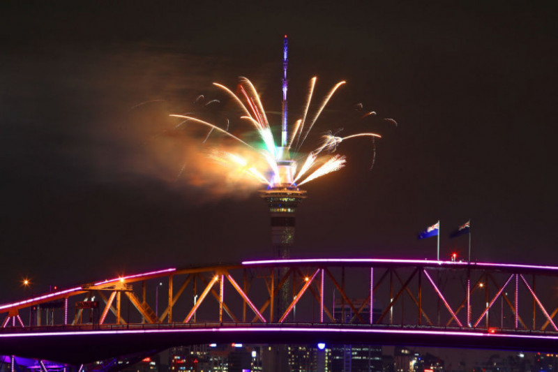 Auckland New Year's Eve 2018