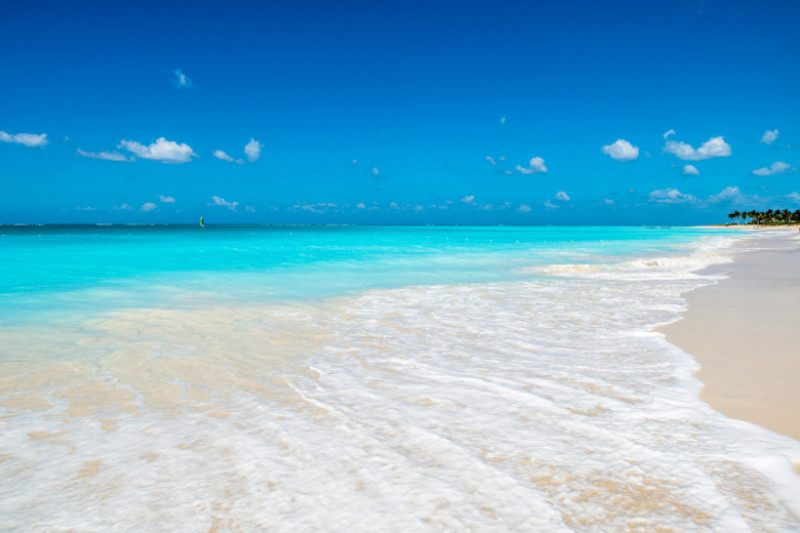 Grace bay beach, plaja, turks and caicos