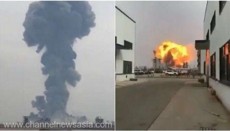 explozie china