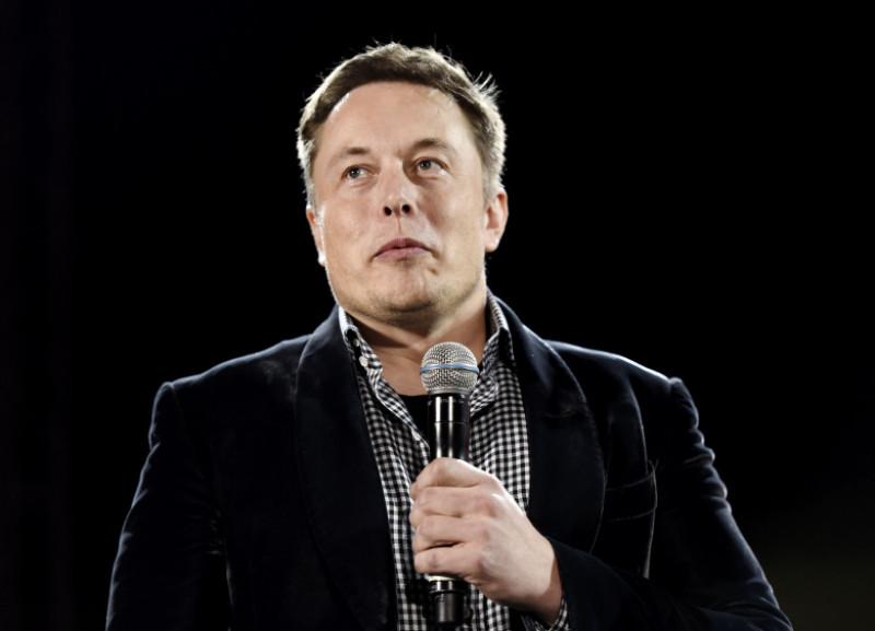 Telsa CEO Elon Musk Unveils New Vehicle