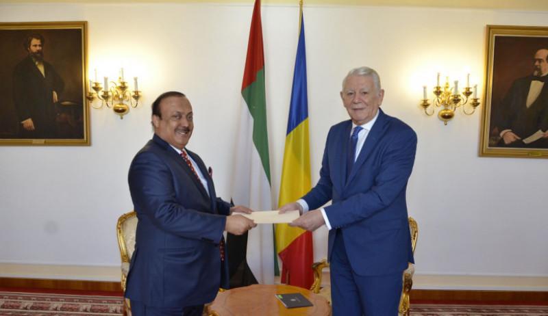 Ahmed Abdullah Bin Saeed Al Matrooshi ambasador emiratele arabe unite la bucuresti