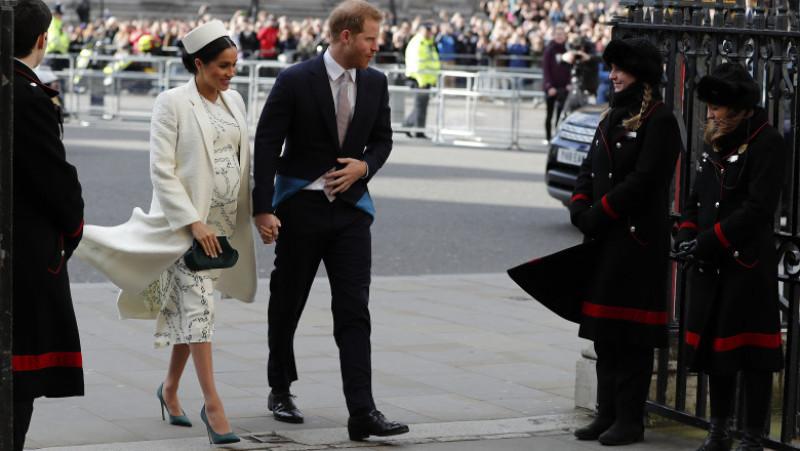 Meghan Markle a născut un băiat. Ducesa de Sussex a intrat în travaliu luni dimineaţă