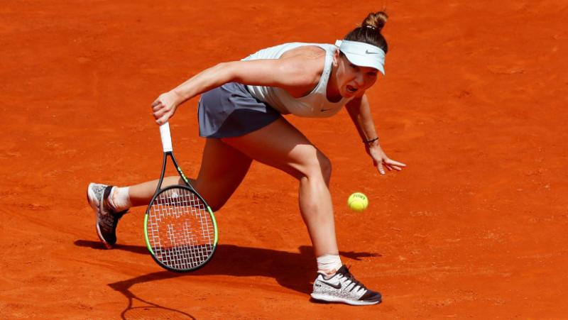 Simona Halep a învins-o, marţi, cu scorul de 7-5, 6-1, pe britanica Johanna Konta