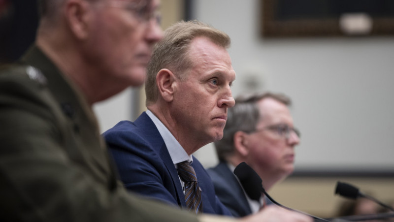 Acting Defense Secretary Shanahan And Joint Chiefs Of Staff Chairman Dunford Testify Before The House Armed Services Committee