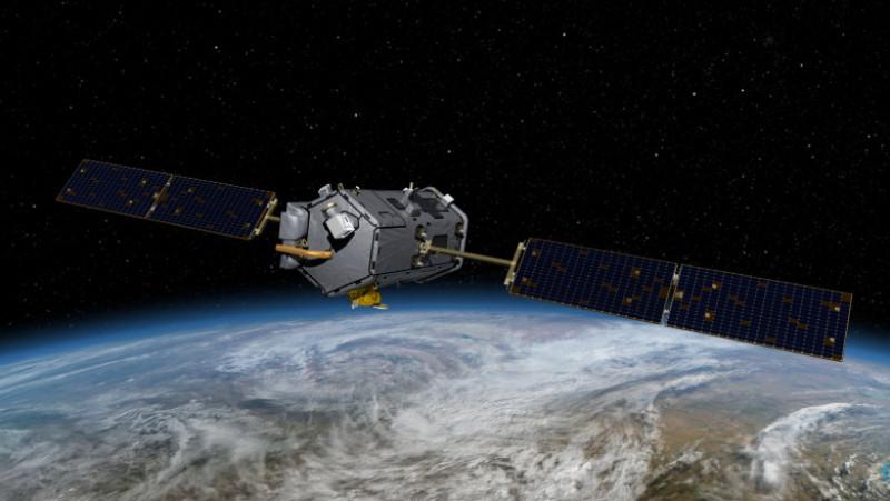 satelit lansare esuata - nasa