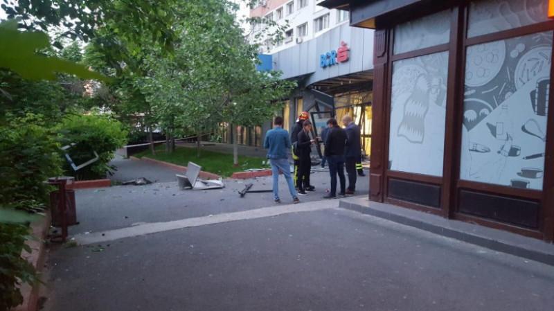 BLOC explozie bancomat