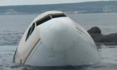 Un avion a fost scufundat intenționat în Marea Egee