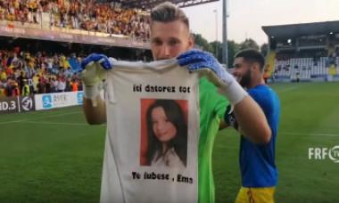 Nimeni nu a știut până acum povestea emoționantă a lui Ionuț Radu. De ce joacă mereu cu acest tricou