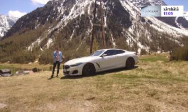 """Bogdan Mirică, prezentatorul """"La Volan"""", a condus în Alpi cea mai frumoasă mașină lansată de nemți în ultimii ani"""