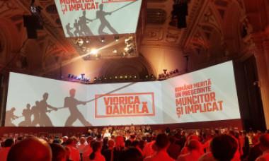 VIDEO&FOTO. Cum s-a dormit la Ultimul Congres al PSD și cine trage sforile Vioricăi Dăncilă