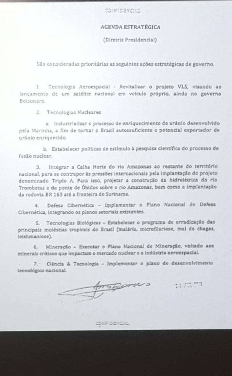 document bolsonaro amazon